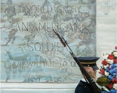 Unknown Soldier Honor Guard - 9x12in Giclee Print