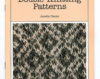 Traditional Nova Scotian Double-Knitting Patterns - Rare out of print book