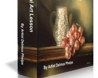 Painting instruction, Delmus Phelps, Oil Painting Techniques, Oil painting lessons,  paint realism, instant access, e-Book, art lessons