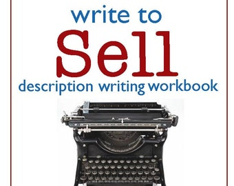 Item Description Writing Workbook