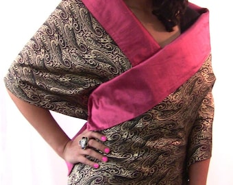 RICH and REVERSIBLE STOLE