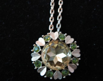 Vintage 1970's, Pendant Necklace Pin.  New Old Stock. Avon