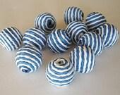 paper bead balls -12 - new price