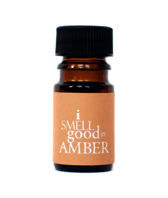I Smell Good in AMBER Perfume Oil