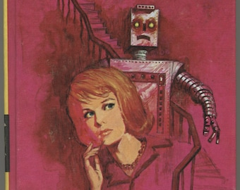 1970s Nancy Drew The Crooked Banister, Vintage Mystery Book, Girl Detective Series