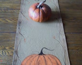 Made to Order: Prim Pumpkin table runner