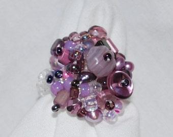 Passionate Purple Ring