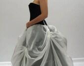 Bustle Skirt Sheer Organza Marie Antoinette