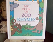 Personalized CUSTOM Childrens Storybook - My Book of ZOO RHYMES