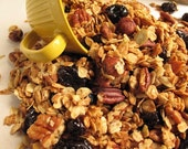 Homemade Granola - 16 oz - You Choose Your Flavor