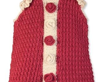 Retro Dress Crochet Pattern