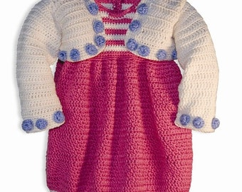 Crochet Patterns, Crochet Patterns for Girls, Crochet Patterns for Babies, Crochet Dress Pattern, Crochet Shrug Pattern, Patty Davis Designs