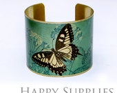 50% off - New Technology - 1pcs  (PBC022) Handmade Photo Brass Cuff Bracelet