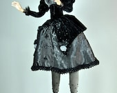 OOAK - Fantasy Artdoll - Queen of Clubs - by Marina