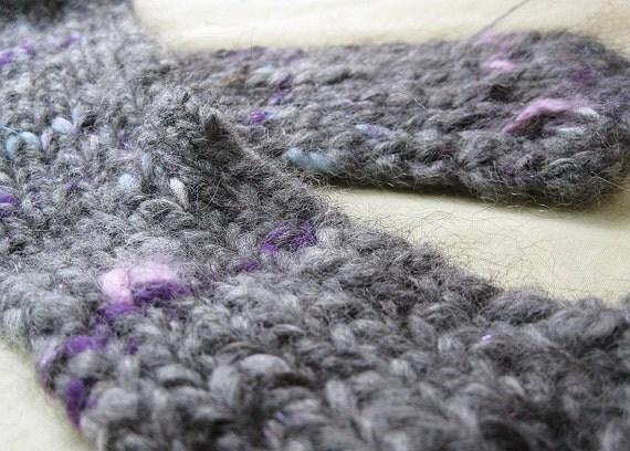 Pixie Fog - Handspun, handknit scarf