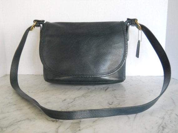 Coach  Cross Body  Bag // Messenger Slate Blue Leather