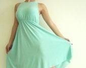 Mint Maternity Dress- Classic 'Rainbow' Dress