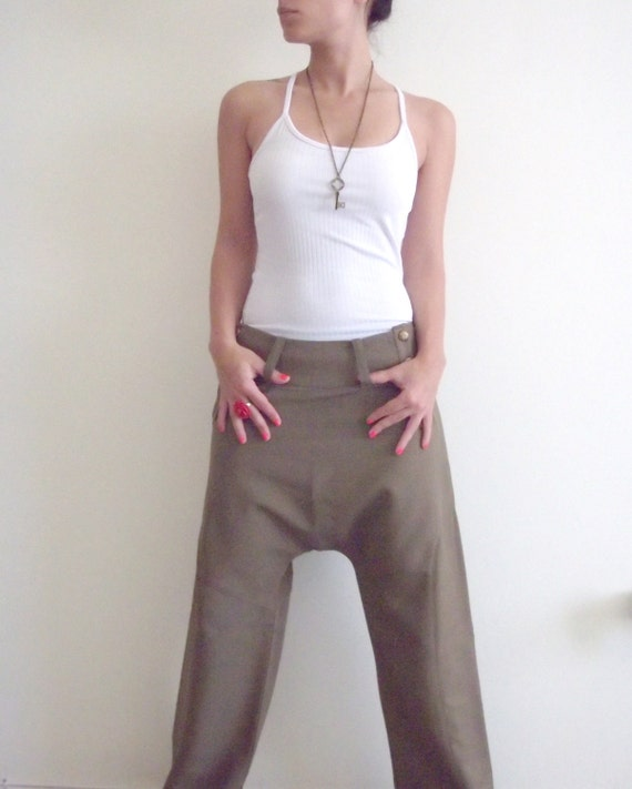 Women trousers/ unique trousers/ Women pants/ Elegant trousers/ Elegant pants/ Formal trousers/ Designed trousers-/On Sale 'Saki' Trousers