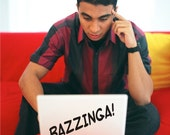 Bazzinga Laptop decal Macbook sticker decal Mac sticker