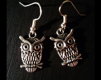 Gothic Earrings 'Creature of the night'