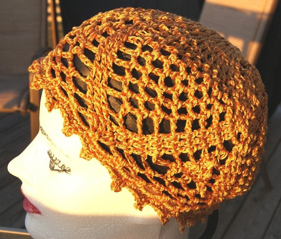 Handmade Lace Cap Crochet Pineapple Hat Beanie by ...