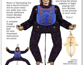 Cosmo Monkey Jumping Jack