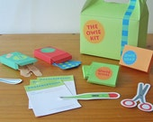 Printable first aid kit - PDF paper craft