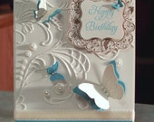Handmade Birthday Card, Stampin Up Elementary Elegance