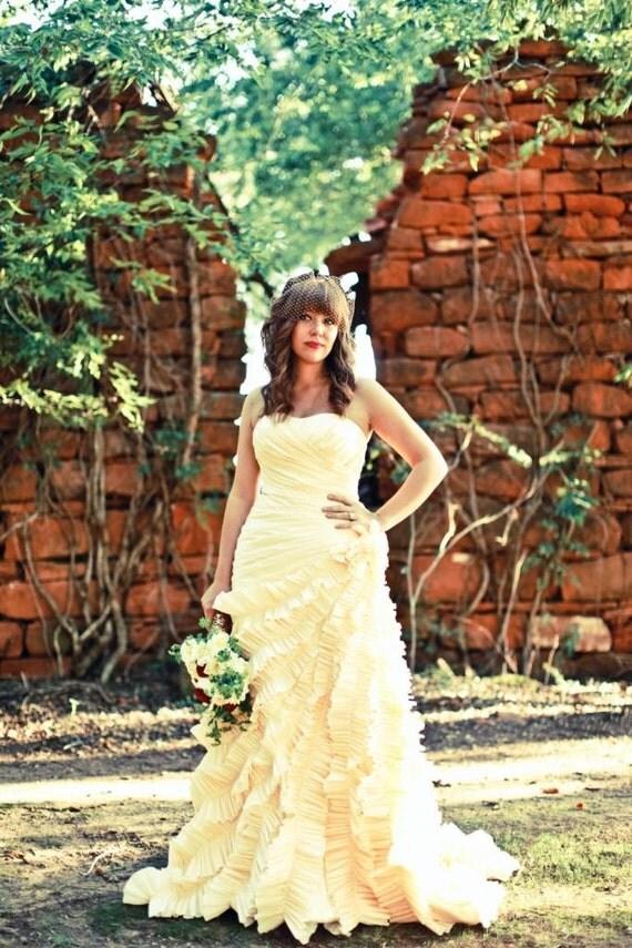 Champagne Wedding Dress - Gracie Style