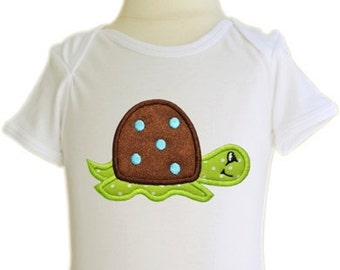 Turtle Applique Boy