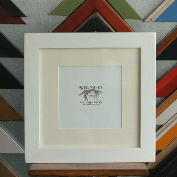 8x8 inch square picture frame in 15 inch standard style and color of your choice