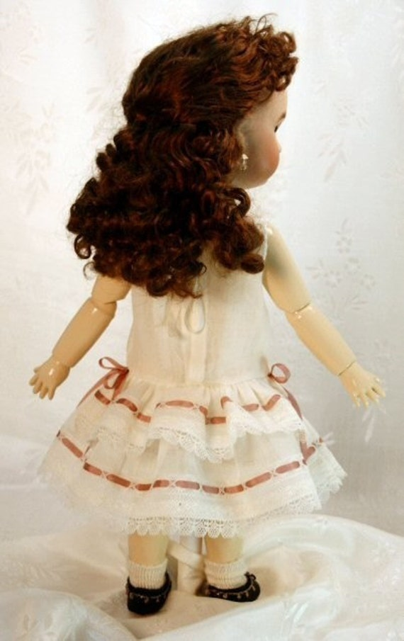 Bleuette pattern for doll clothing - Premiere set of underclothing - bodice petticoat and drawers.