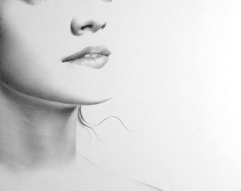 Emma watson drawing | ... Mila Kunis Etsy