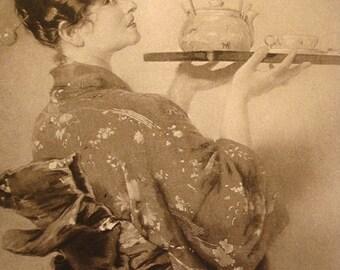Madame Chrysantheme - 1892 Illustration - Photogravure