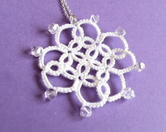 CLEARANCE Bridal Lace Pendant - Mystica