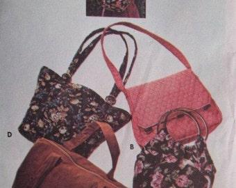 Sale - Vintage - Handbag Pattern  -  Four Unique Shapes - Butterick 4520 - Uncut Pattern