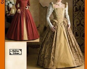Simplicity Pattern 3782 - Elizabethan Gown Sewing Pattern - Sz 14-16-18-20