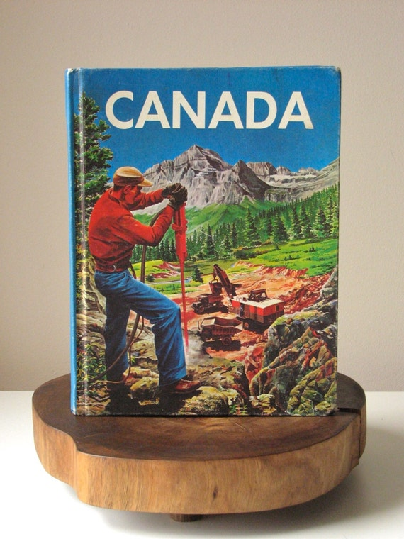 SALE // Vintage Children's Canada Textbook