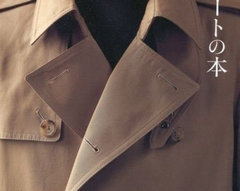 Men's Coat by Ryuichiro Shimazaki - Japanese Sewing Pattern Book For Trench Coat, Pea Coat, Duffel Coat - Easy Sewing  Mens Clothing - B312