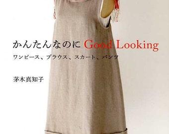 Simple Dress Patterns - Japanese Sewing Pattern Book for Women Clothing - Machiko Kayaki - Dress, Blouse, Skirt, Tunic, Pants Tutorial, B862