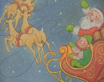 The Littlest Christmas Elf VINTAGE Childrens Book 1987 Stocking Stuffer