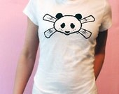 SALE - Bamboohead White Girls Tee - Medium