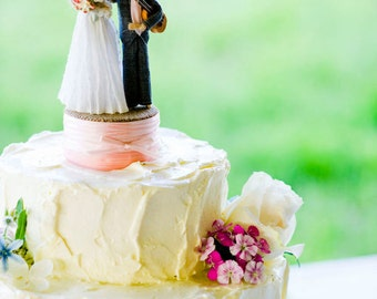 Custom Wedding Cake Topper with ONE INSTRUMENT
