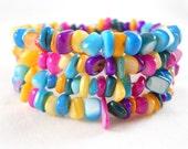 Colorful Bracelet Stacked Bracelet Tween Jewelry Teen Jewelry Wrap Bracelet