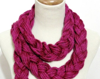 Sale Berrylicious Braided Scarf