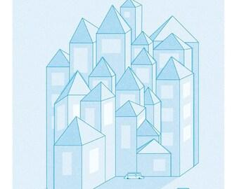 La Ville Print - Different Sizes