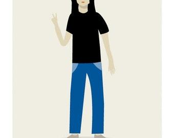 Lennon Print -  Different Sizes