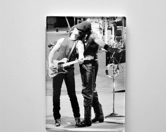 Bruce Springsteen and Clarence Clemons     The Kiss
