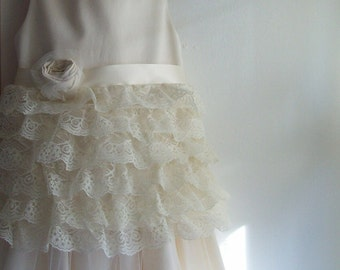 Lacey Flower Girl Dress