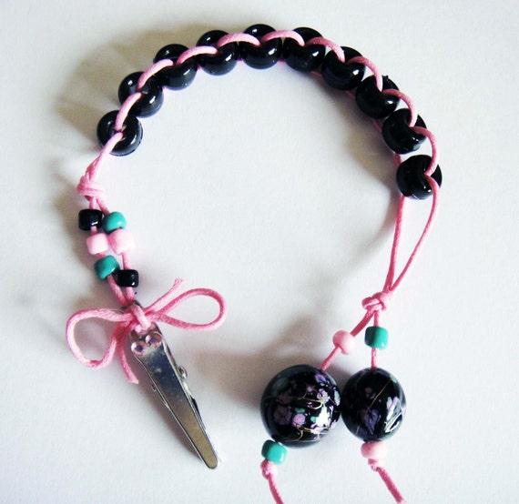 DOO WOP - Pink, Black and Aqua Golf Stroke Beads - MAXI by TallyGators™